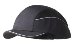 Surflex Short Peak Bump Cap - Black