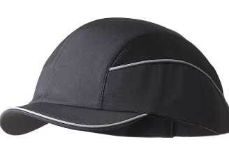 Surflex Short Peak Bump Cap - Black